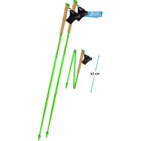 Komperdell Carbon.FXP Team Poles Foldable green